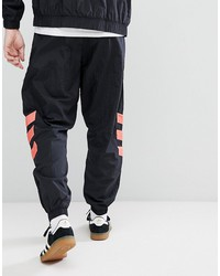 adidas originals vintage tapered joggers in black cw4989