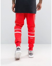adidas originals crl84 joggers in red bk5927