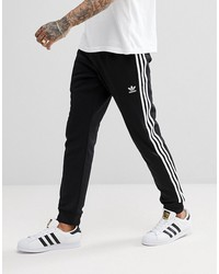 adidas originals adicolor superstar joggers in black cw1275