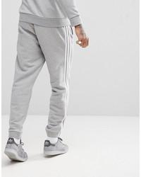 adidas originals adicolor 3-stripe joggers in gray cy4569
