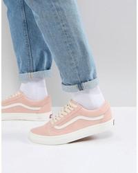 vans old skool sneakers in pink va38g1qsk