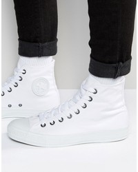 converse all star hi plimsolls in white 1u646