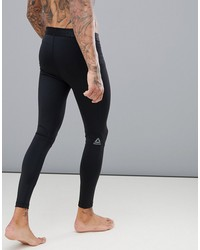 reebok training work out ready compression tights in black cy3624