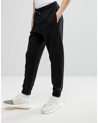 adidas originals eqt joggers in tapered fit in black cd6840