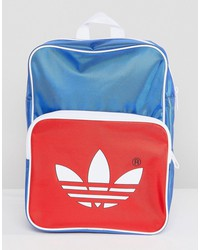 adidas originals adicolor retro backpack in blue cw2619