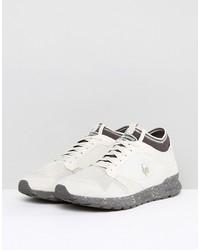 le coq sportif omicron premium sneakers in beige 1720058