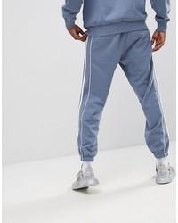 adidas originals nova retro joggers in gray ce4810