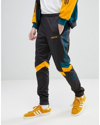 adidas originals vintage tapered joggers in black ce4853