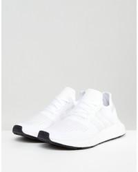 adidas originals swift run sneakers in white cg4112