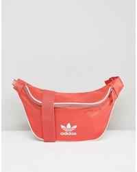 adidas originals adicolor fanny pack in red cw0611