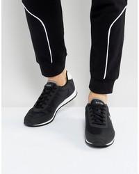 le coq sportif raceron nylon sneakers in black 1711237
