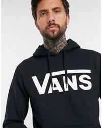 vans classic pullover hoodie in black