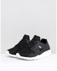 le coq sportif pure lea sport sneakers in black 1720548