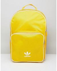 adidas originals adicolor backpack in yellow cw0634