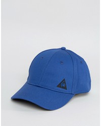 le coq sportif color block cap in blue 1710498