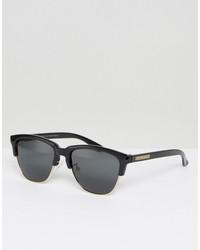 hawkers classic polarised retro sunglasses in black