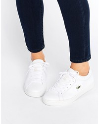 lacoste classic straightset sneakers