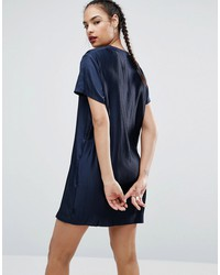adidas originals adicolor deluxe dress with pleated back