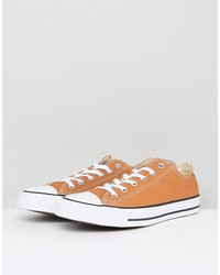 converse chuck taylor all star ox sneakers in tan 157651c237