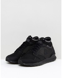 le coq sportif omicron triple reflective sneakers in black 1720063