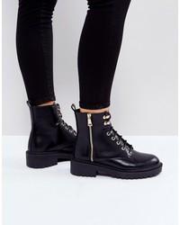 raid jenny lace up boots