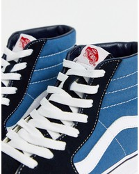 vans sk8-hi sneakers in navy