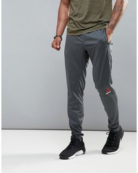 reebok training joggers in tapered fit in gray b45122