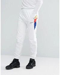 adidas originals st petersburg pack tribe track jogger in white bs2213