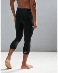 reebok training compression tights in black br4908