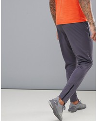 reebok training work out ready trackster tapered joggers in gray cd5527
