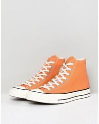 converse chuck taylor all star  70 hi sneakers in orange 159622c