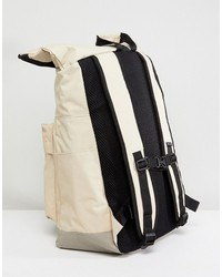 nicce rolltop backpack in stone