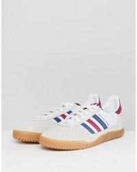 adidas originals indoor super sneakers in white cq2222