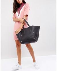 calvin klein large tote bag with tonal stud detail