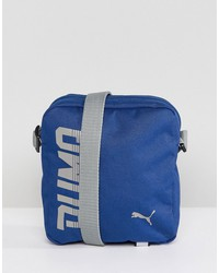 puma pioneer flight bag in blue 07471702