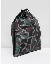 adidas originals drawstring bag in camo bq6102