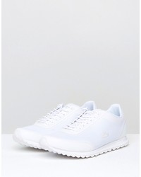 lacoste helaine runner 116 sneakers in white