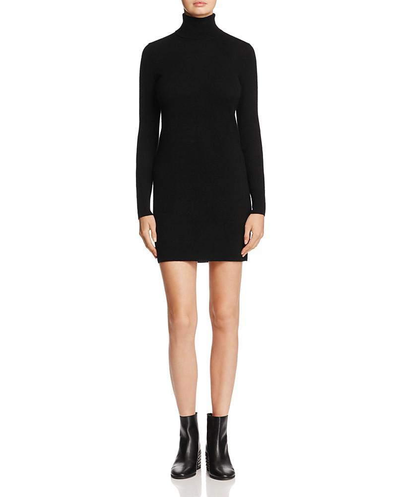 c by bloomingdale's cashmere turtleneck dress - 100% exclusive