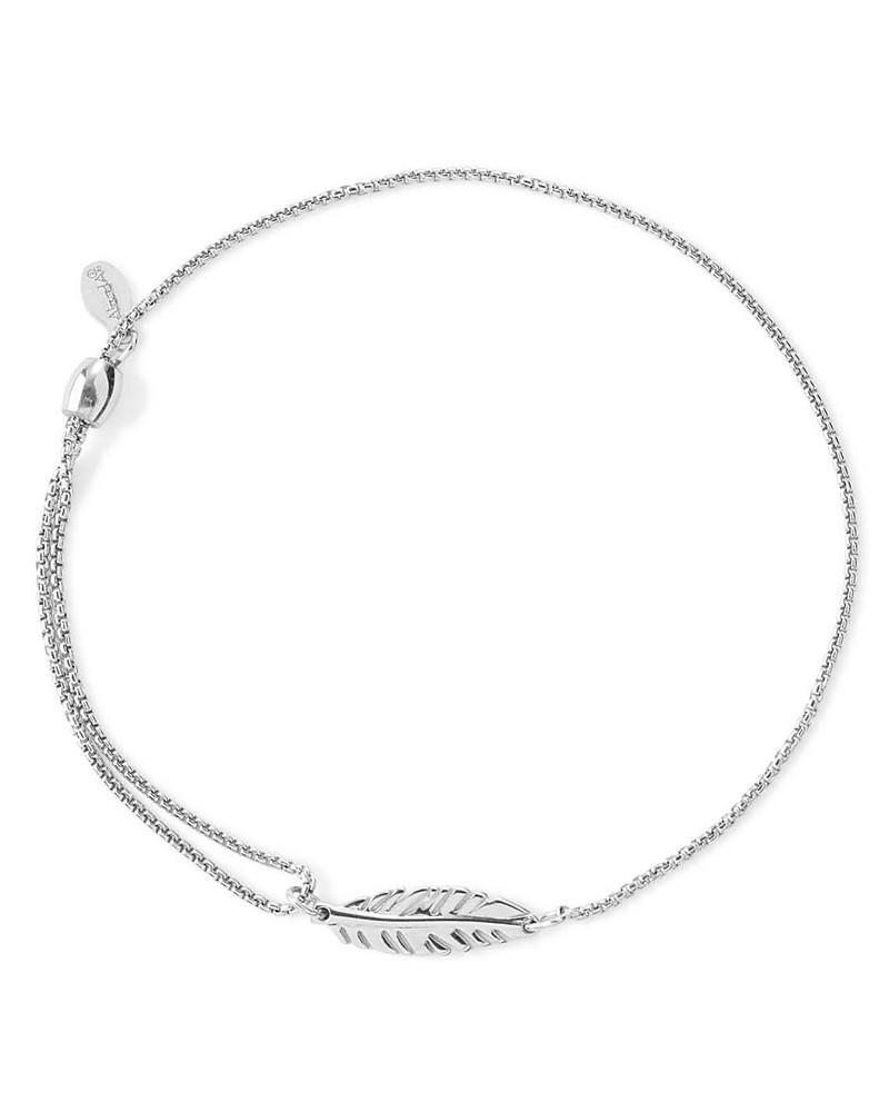 alex and ani precious metals symbolic feather pull chain bracelet