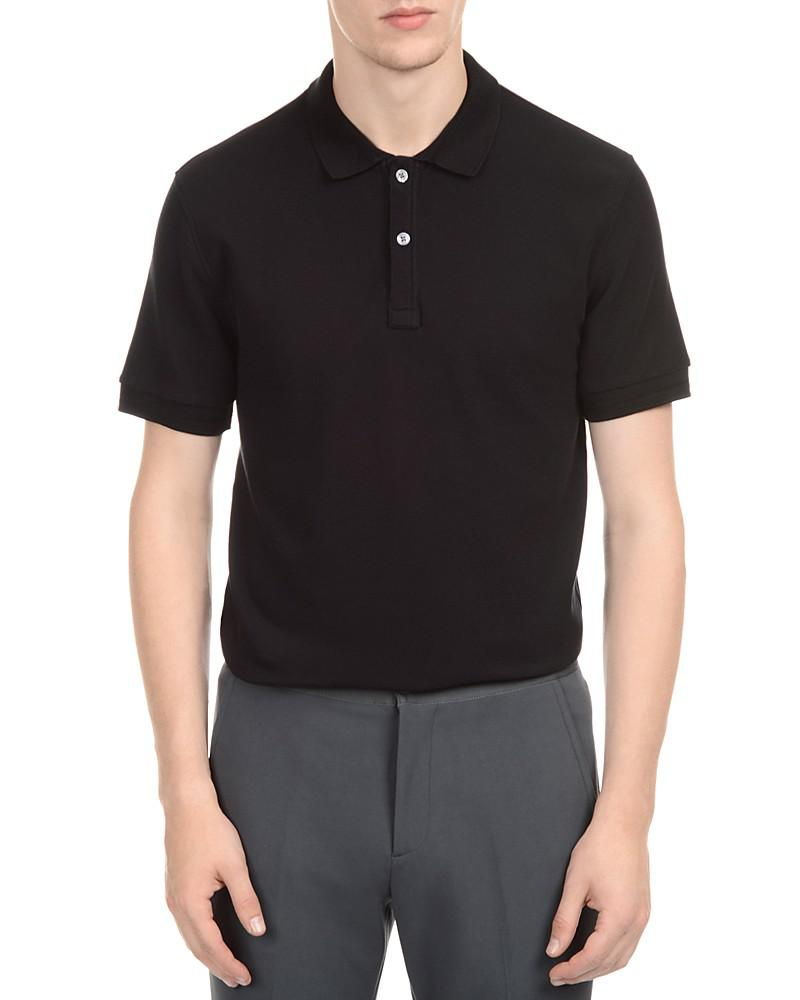 atm anthony thomas melillo piqué slim fit polo shirt