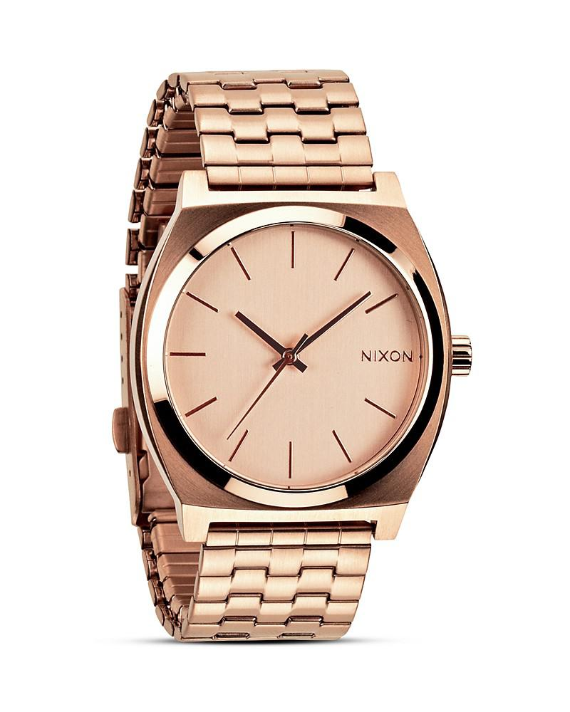 nixon the time teller watch, 43mm
