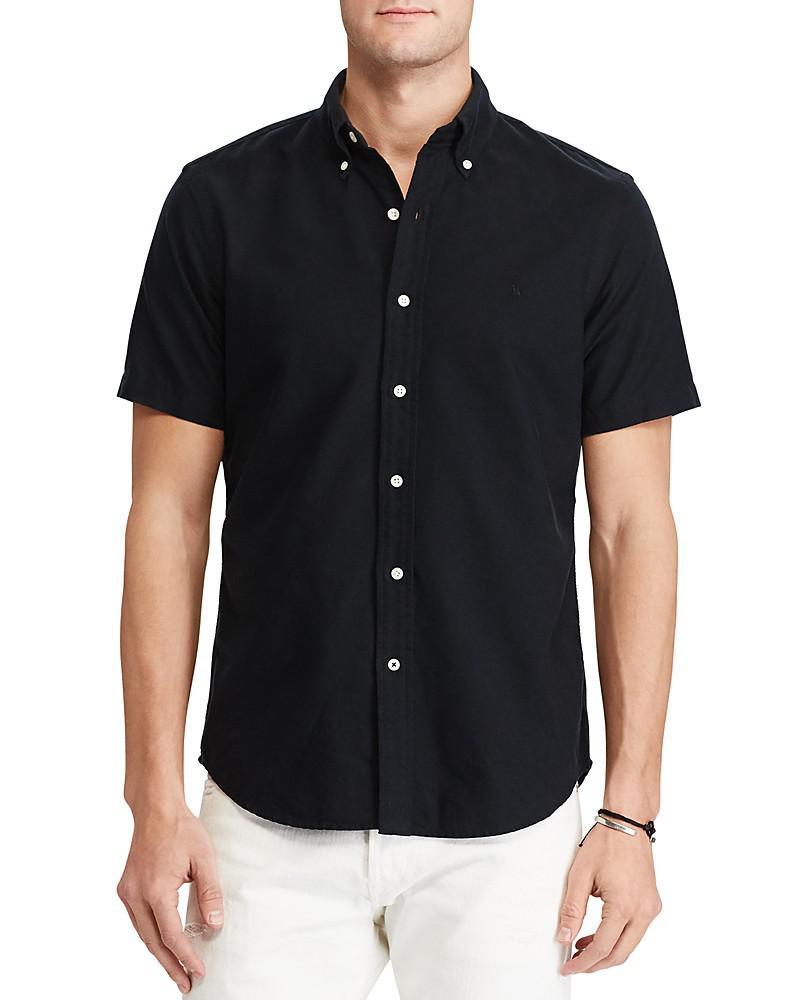 polo ralph lauren cotton classic fit button-down shirt