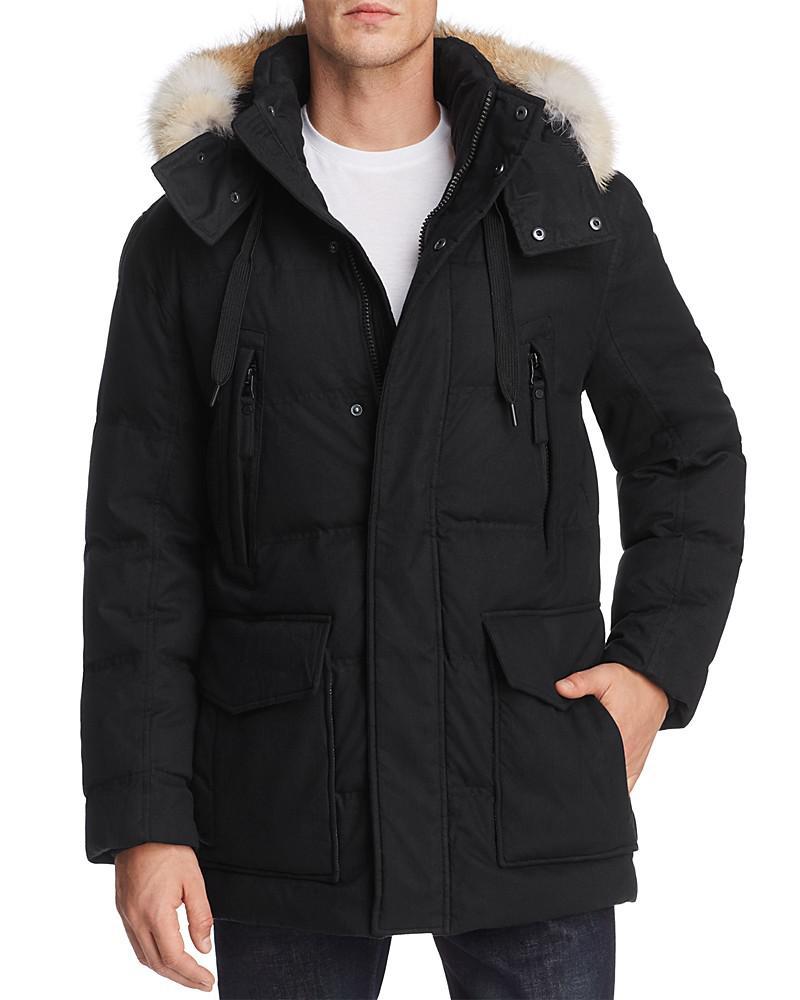 marc new york dobeln hooded parka