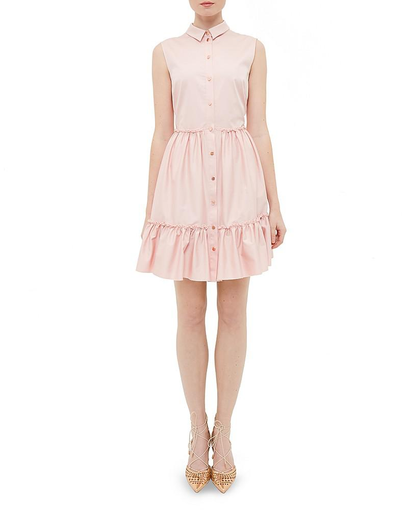 ted baker cottoned on daikota ruffled dress