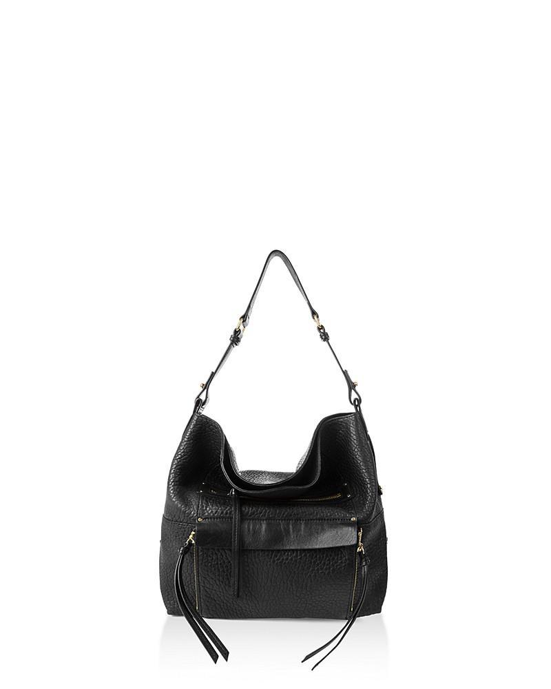 kooba tuscon leather shoulder bag