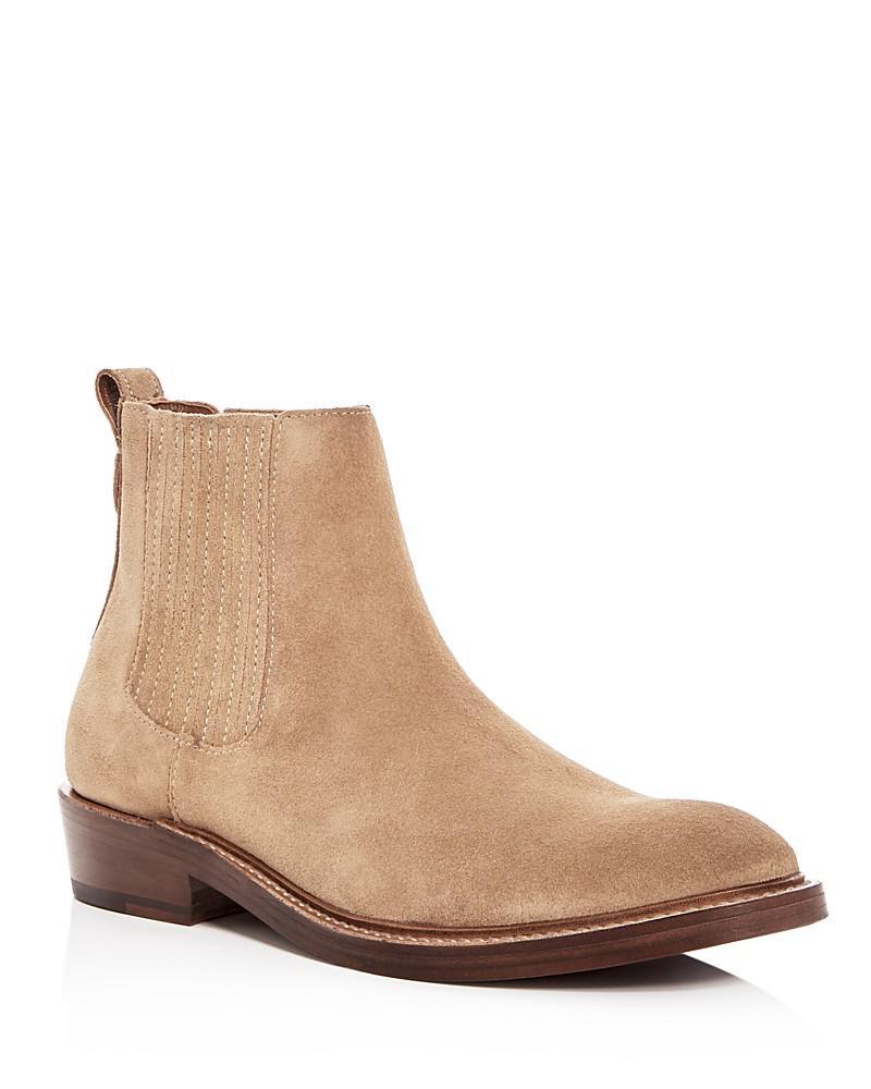 coach men's suede chelsea boots