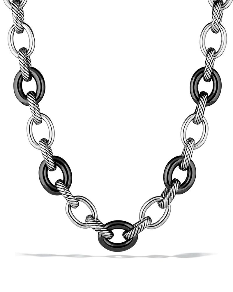 david yurman oval extra large link necklace
