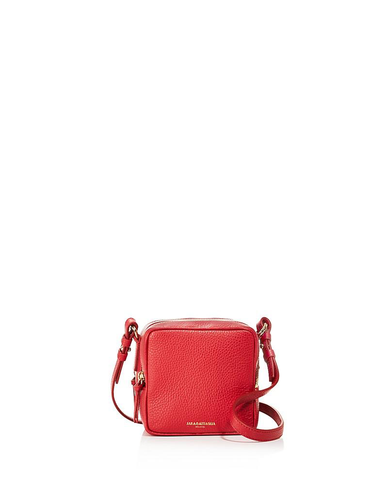 sara battaglia cube leather crossbody