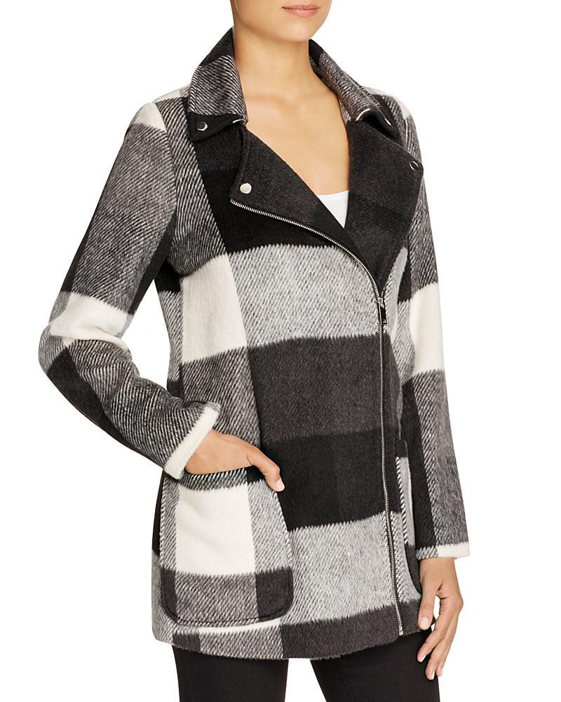 louise paris plaid coat