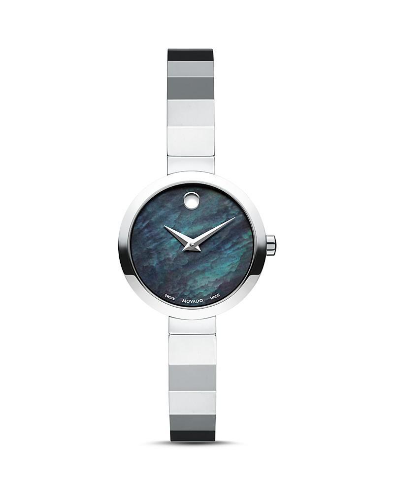 movado novella watch, 24mm